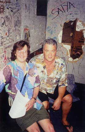 Backstage: Brian Hassett and John Grady