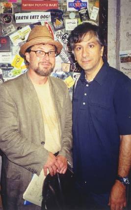 Backstage: Bob Holman and Lee Ranaldo