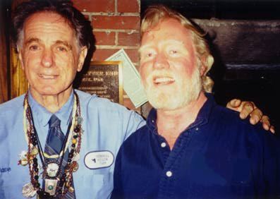Backstage: David Amram and John Cassady