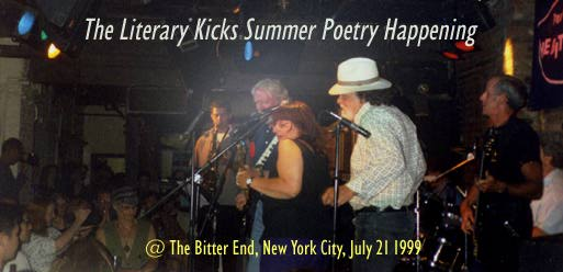 Literary Kicks Summer Poetry Happening
