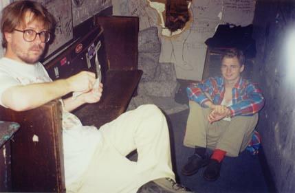 Backstage: Mark Thomas and Aaron Howard